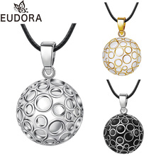 Eudora Harmony шар круглый мексиканский кулон бола кулон призывающий ангелов Цепочки и ожерелья круг Музыкальные звуки Bola шарики ювелирные изделия для беременных Для женщин