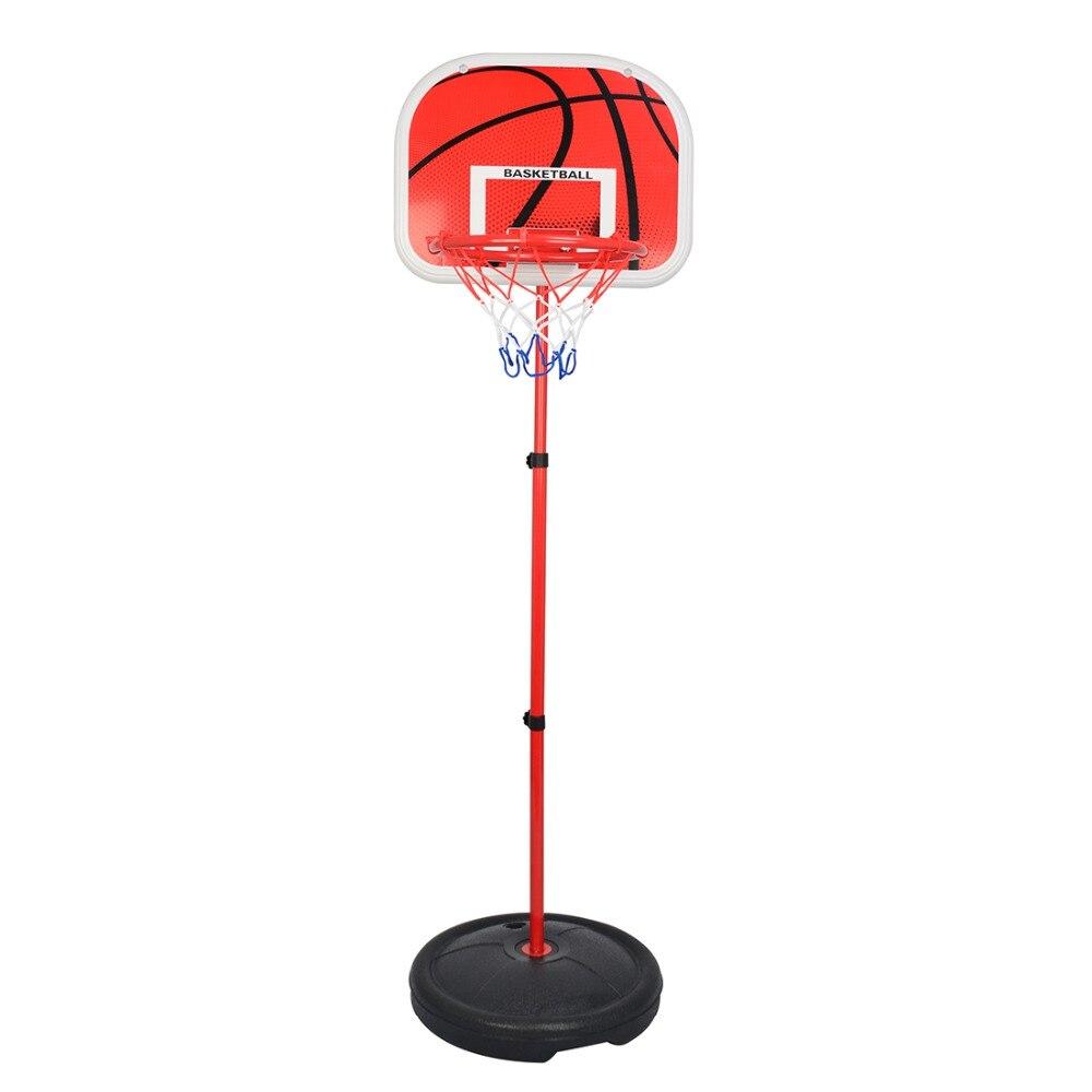 73-170 CM basket-ball Stands hauteur réglable enfants basket-ball but cerceau jouet Set basket-ball pour garçons entraînement pratique accessoires