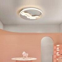 Shopcase led Plafond lamp Verlichting Nordic kids slaapkamer Ronde LED Plafond fixturesLuminaria Moderne Verlichting Voor Slaapkamer Woonkamer