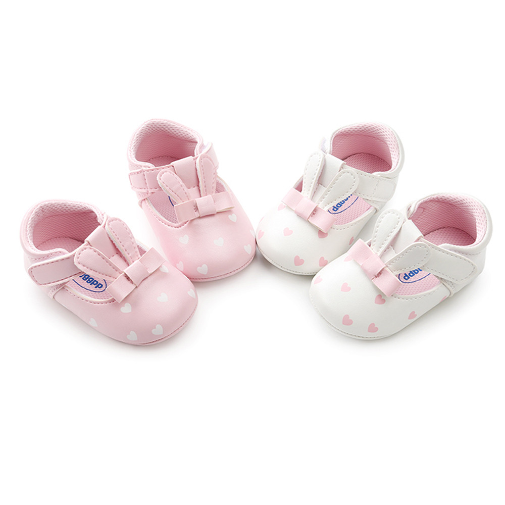 Toddler Shoes Soft-Bottom Girls Baby Fashion New Rabbit Ears Children's