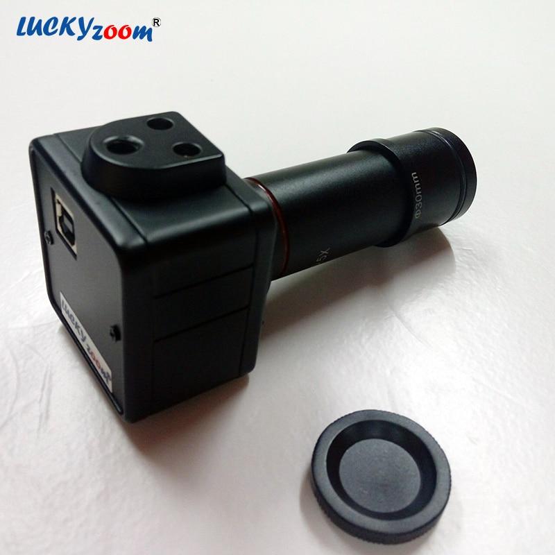 Luckyzoom HD 5MP USB Cmos Cámara Adaptador de microscopio ocular - Instrumentos de medición - foto 3