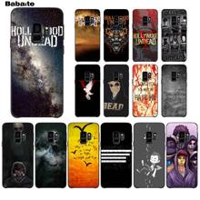 Babaite hollywood undead DIY Luxury High-end Protector Phone Case For GALAXY s7 edge s8 plus s9 plus s6 s6 edge(China)