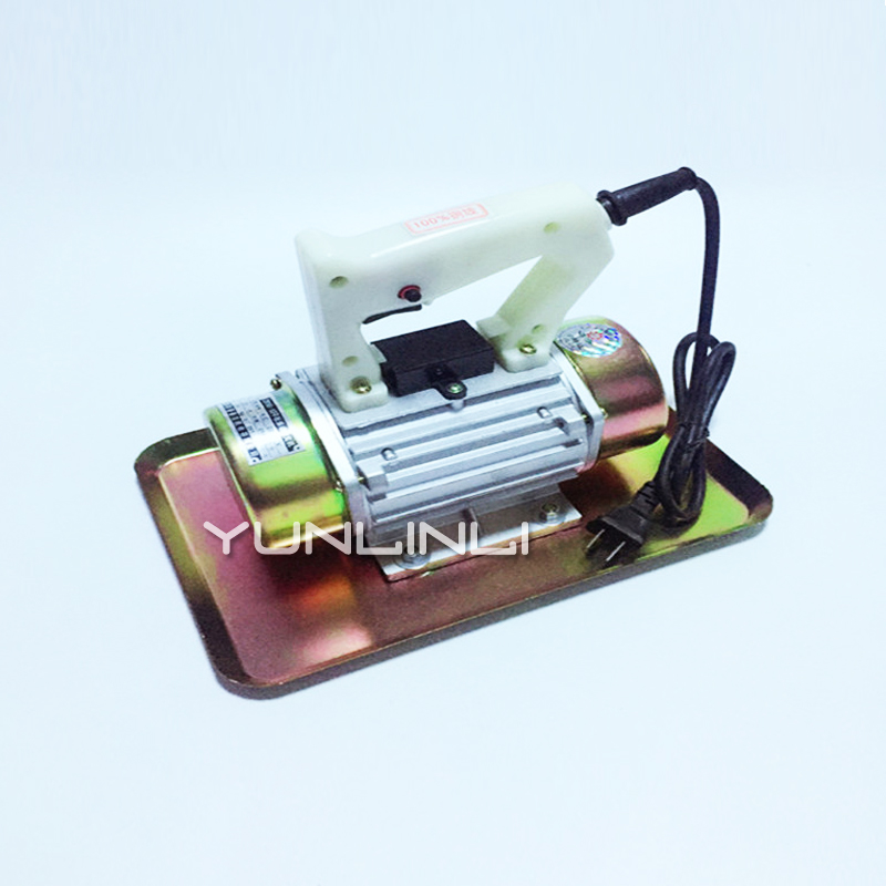 Hand-held Iron Shell Concrete Vibrator With 1M Cable 2840times/m 29cm*22cm 220V 250W Cement Vibrating Troweling Machine