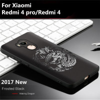 2017 New Fashion Phone Case For Xiaomi Redmi 4 Pro Redmi 4 Case Cover Soft 8