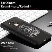 2017 New Fashion Phone Case For Xiaomi Redmi 4 Pro Redmi 4 Case Cover Soft 8