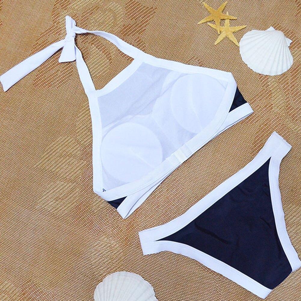2018 Sexy Bikini Set Bandage Women Swimwear Swimsuit Bathing Beachwear Padded Summer Beach Suits maillot de bain femme biquini 5
