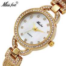 MISSFOX Miss Fox Brand Fashion Women Watches 2018 Gold Quartz Lady Wrist Watch Silver Luxury Waterproof Clock Wowan