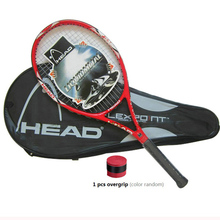 High Quality Carbon Fiber Tennis Racket Racquets Equipped with Bag Tennis Grip Size 4 1/4 raquetas de tenis Free Shipping