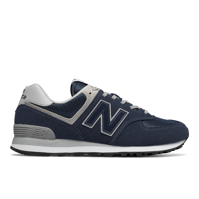 NEW BALANCE Mens Unisex ML574EGN, Free And Time Sportwear, Navy