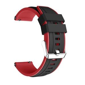 Image 3 - Dla Huami Amazfit GTR 47MM silikonowy zegarek zespół mężczyźni kobiety Sport inteligentny zegarek pasek do Samsung galaxy zegarek 3 45mm gt gt2 46mm