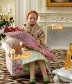 """4.53 """" фарфоровая кукла модель 1:12 кукольный миниатюрный сетки одежда зеленый юбка леди"""
