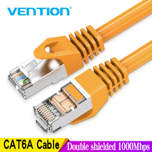 Vention Ethernet Cable RJ45 Cat 6a Lan Cable UTP RJ 45 Network Cable for Cat6 Compatible Patch Cord for Modem Router Cable 1m 5m