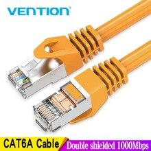 Vention Ethernet כבל RJ45 חתול 6a Lan כבל UTP RJ 45 רשת כבל עבור Cat6 תואם תיקון עבור מודם נתב כבל 1m 5m