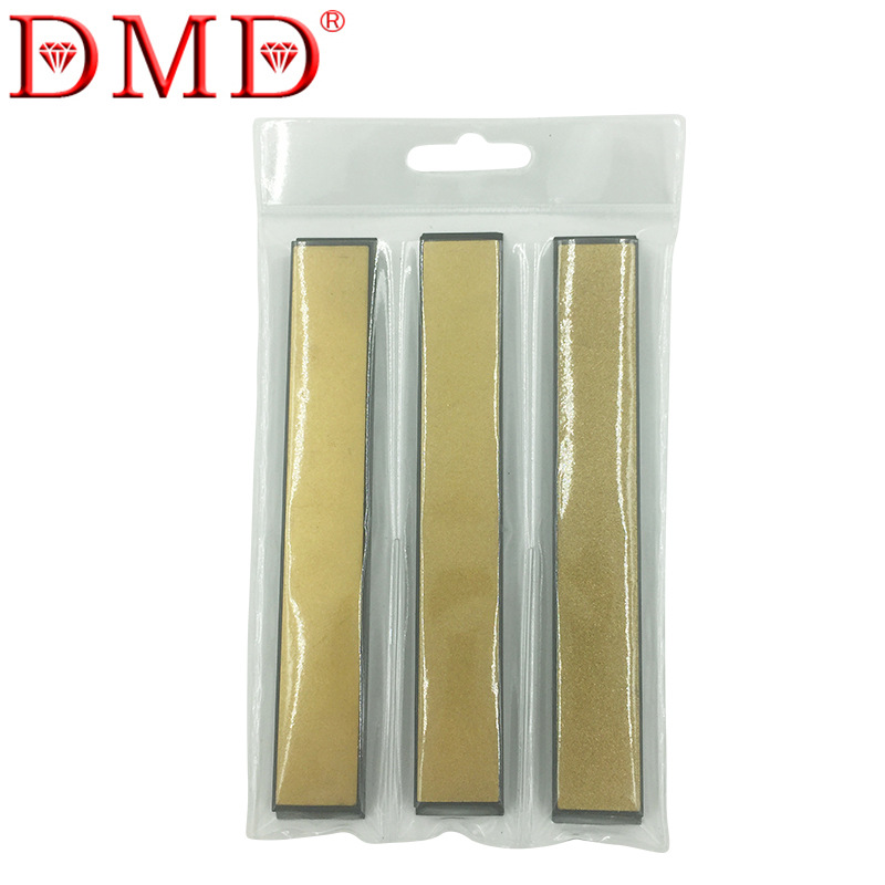 DMD 3Pcs Set Knife Sharpener Edge Diamond Whetstone Sharpening Stones Durable Kitchen Tool for Knife Sharpener