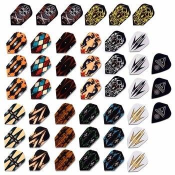 цена на CUESOUL Wholesale Price 45PCS Slim Dart Flights Multi-color selection For Soft Tip Darts FREE SHIPPING