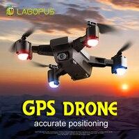 Lagopus Дрон GPS с камера HD Professional FPV системы RC Quadcopter 1080 p 5 г складной Дрон