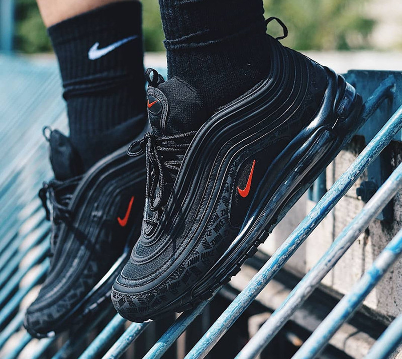 New Arrival Original Nike Air Max 97 Reflective Logo Men
