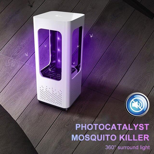 Комаров Репеллент, анти-москитные лампа USB 2019 комаров мухобойка уличная мода прочный настольных украшения дома удобно
