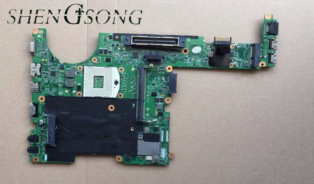 Free Shipping Original 643216-001 FOR HP HP Compaq 6360b Laptop Motherboard 643216-001 HM65 Mainboard 100% tested