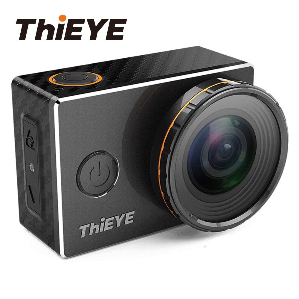 ThiEYE V6 4 K casque caméra d'action Wifi 2.0 ''Écran Sous-Marine 60 m Plongée Cam Aller Sports Extrêmes caméra imperméable