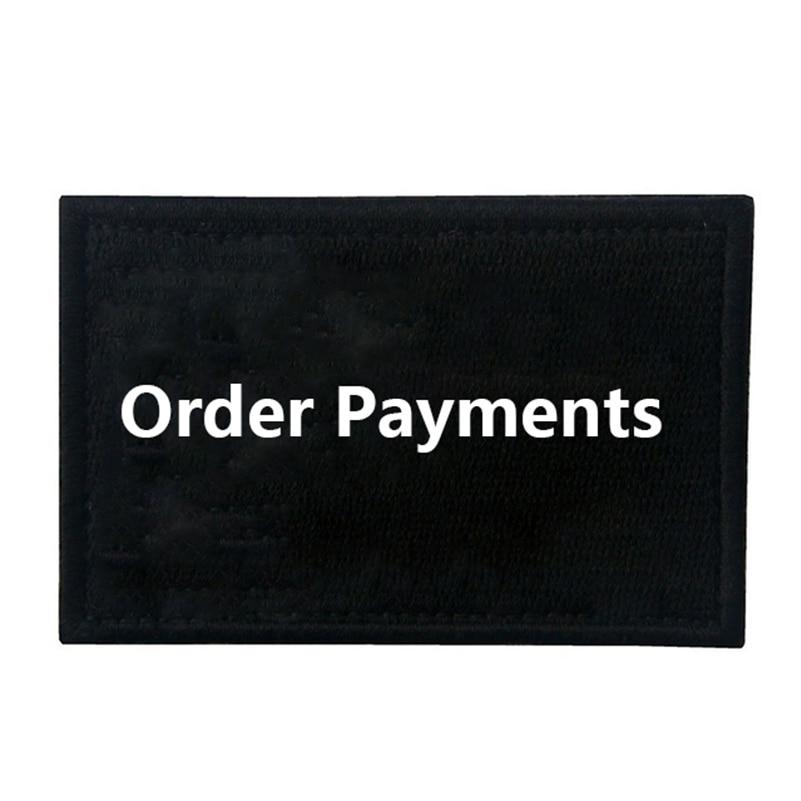 Paiements de commande pour les correctifs