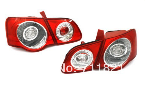 Stock LED Tail Light For VW Passat B6 ветровики prestige vw passat b6 sd 06