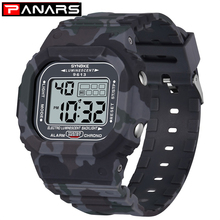 PANARS Men Watch Outdoor Sport 3Bar Waterproof Watches Alarm