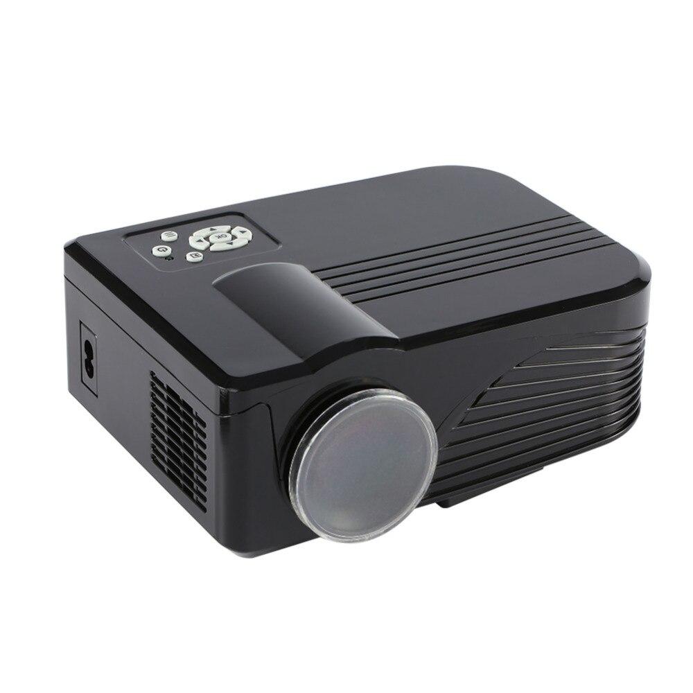 Mini Digital LCD LED Proyector de Cine En Full HD 1080 P Proyector de Vídeo 800x