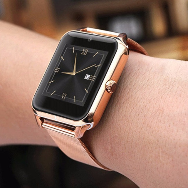 Smart Watch GT08 Z60 Men Women Bluetooth Wrist Smartwatch Support SIM/TF Card Wristwatch For Apple Android Phone PK DZ09