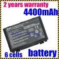 Batería del ordenador portátil para asus k60ij k50i jigu k50in envío libre K60I A32-F82 F52 F82 F83S K40 K40E K6C11 F52 K50 K51 K60