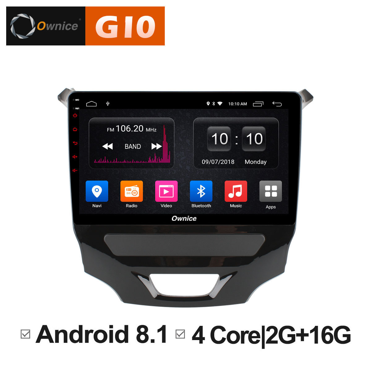 Pour CHEVROLET CRUZE 2015 voiture android 8.1 unité Auto stéréo Audio Radio DVD système de divertissement Intelligent lecteur multimédia PC
