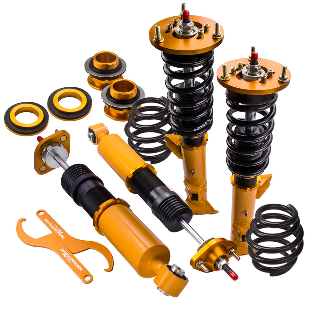 Damper-Spring Coilover-Suspension Series Rear-Absorber Bmw E36 Front for 1991-1999 4pcs