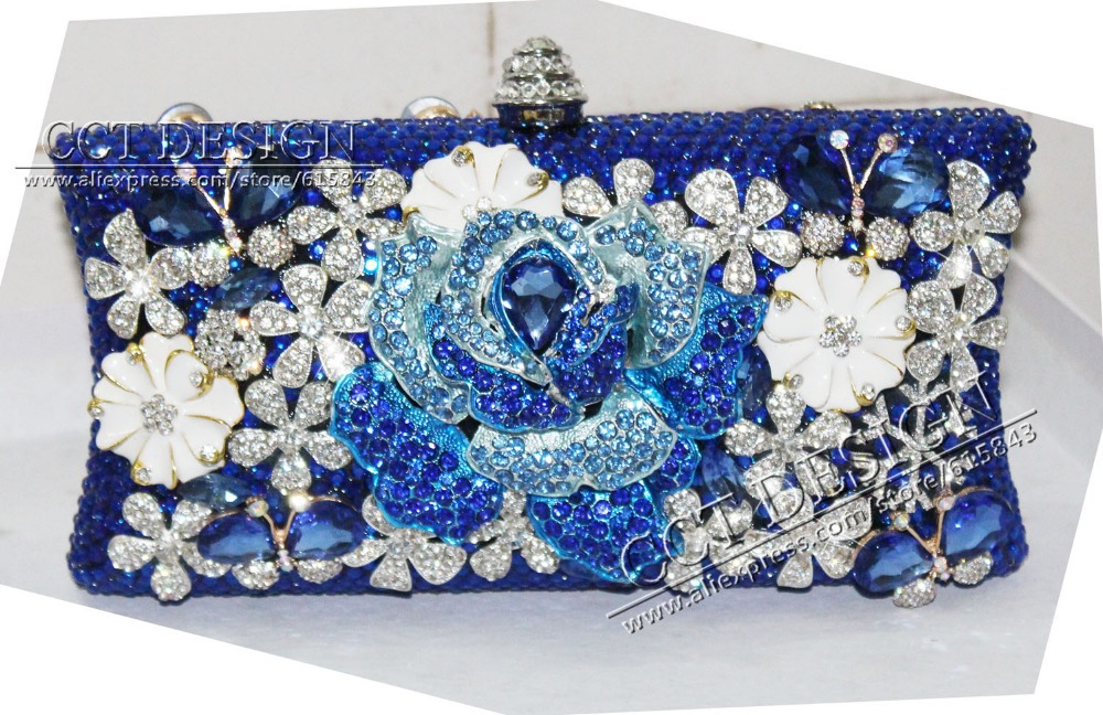 Blue Clutch Handbag Promotion-Shop for Promotional Blue Clutch ...