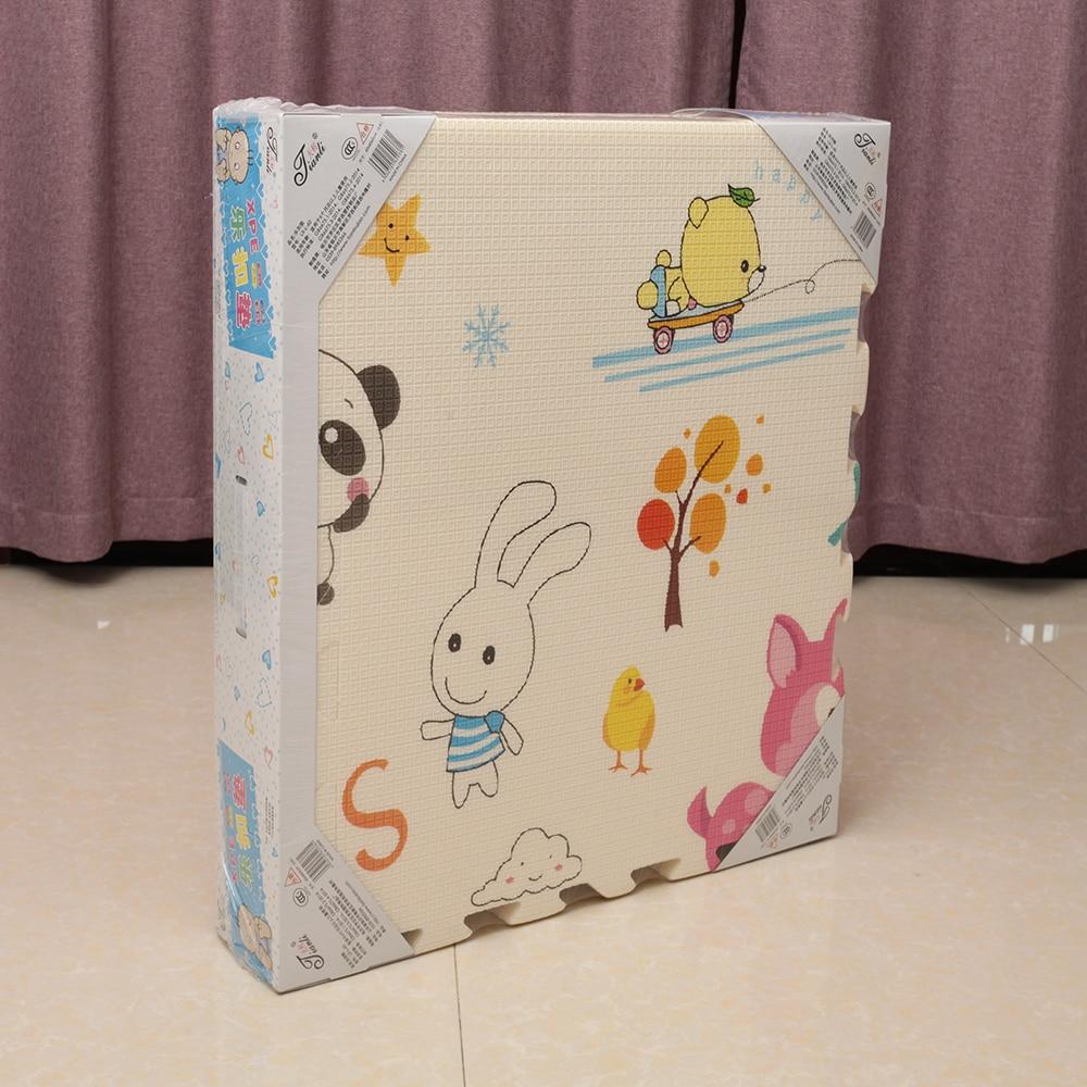 Նորածինների փայլում 6 հատ XPE Baby Play Mat - Խաղալիքներ նորածինների համար - Լուսանկար 5