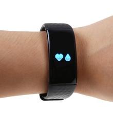 Вибрации будильник Часы Heart Rate оксиметрии Браслет фитнес-трекер Браслет WhatsApp оповещения для iPhone IOS Android Мобильный