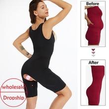 Emagrecimento underwear cintura trainer lingerie feminina bunda levantador barriga corpo shaper controle calcinha shapewear em shapers bodysuit