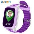 DS18 Smart Phone Assista Garoto Relógio de Pulso Anti-Lost WiFi GPS Tracker relógio Para Crianças SOS Cartão SIM Smartwatch Para Android iOS crianças