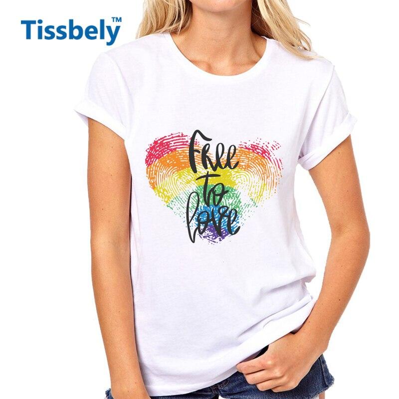 Tissbely сердце любовь Frases футболка для женщин надписи и