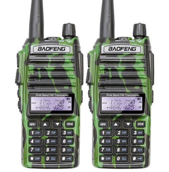 imágenes para Baofeng uv 82 portable walkie talkie CB Jamón radioaficionados por vhf uhf de banda dual baofeng uv 82