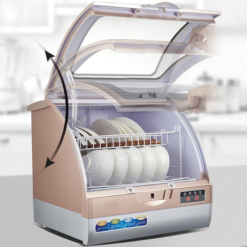 800w 70 Degree Automatic Dishwasher Electronic Dish Dryer Household Table Small Dishwasher Mini Washing Machine Dish Washer