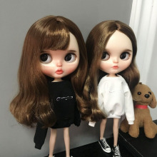 Fashion 1/6 lythe Doll Hoodie 30cm Pullip Blyth Ball Joint Clothes Barbies Dolls Sweatshirt Licca Accessories