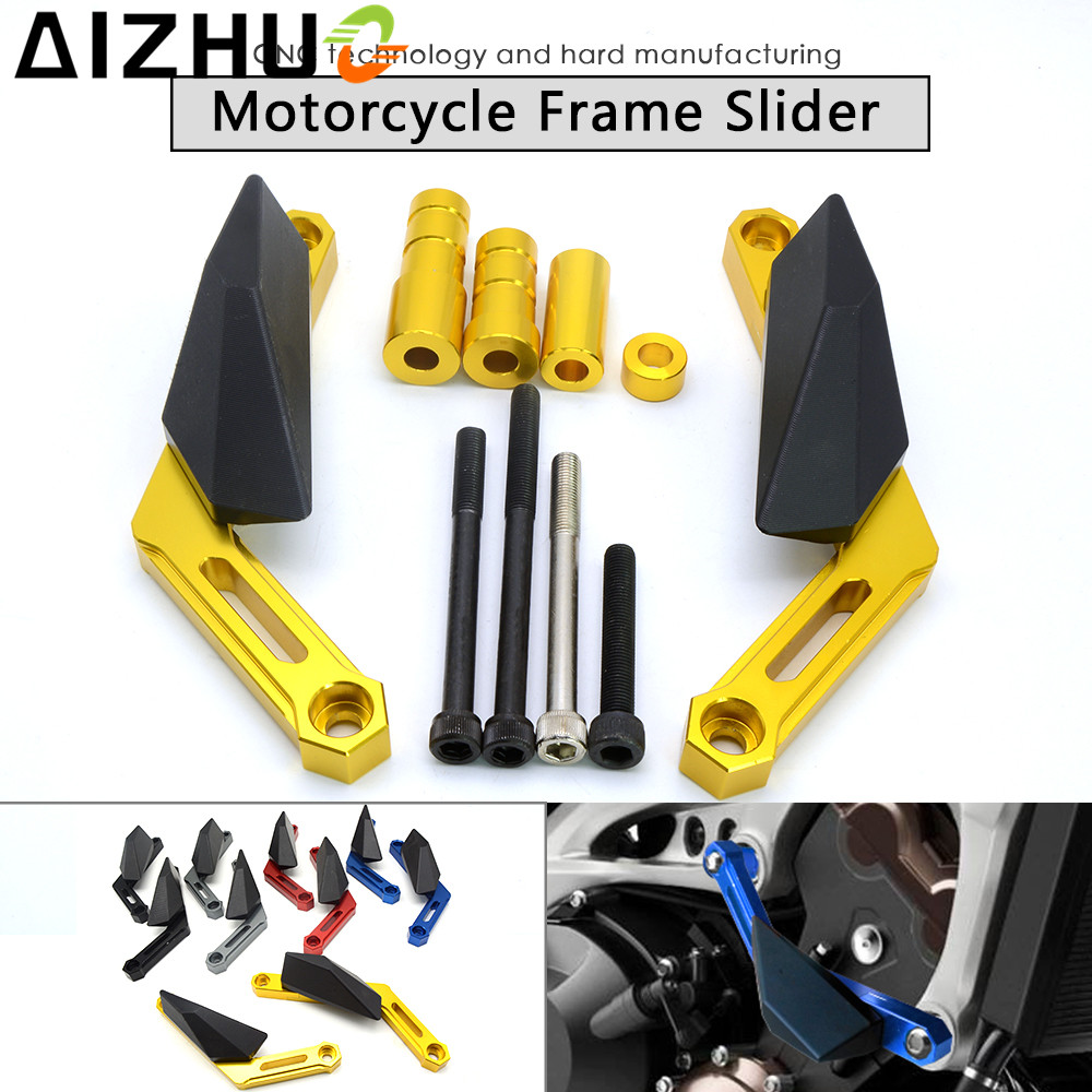 For Yamaha MT-09 MT09 TRACER MT 09 FZ-09 FZ09 FZ 09 FJ-09 FJ Motorcycle Frame SliderFalling Protection anti crash Engine shield