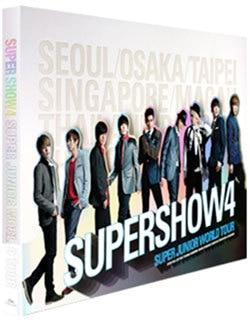 SUPER JUNIOR - WORLD TOUR CONCERT SUPER SHOW 4 PHOTOBOOK (Photobook + 10 pcs member's photocards) RELEASE DATE 2012-08-31 KPOP . стоимость