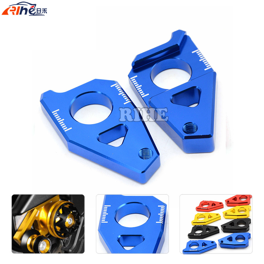 CNC Motorcycle Rear Axle Spindle Chain Adjuster Blocks chain adjuster tensioners for yamaha FZ1 2006-2015 10 11 2012 2013 2014 bigbang 2012 bigbang live concert alive tour in seoul release date 2013 01 10 kpop