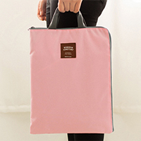 Multifunctional Oxford cloth carry zipper file storage bag 35*27*1cm free shipping