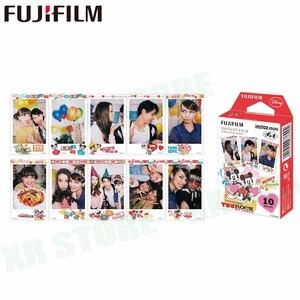 Image 4 - Fujifilm 10 100 Sheets Alice Cartoon Instant Photo Paper cartoon Film For Fuji Instax Mini 11 9 8 70 7s 50s 90 25 Share SP 1 2