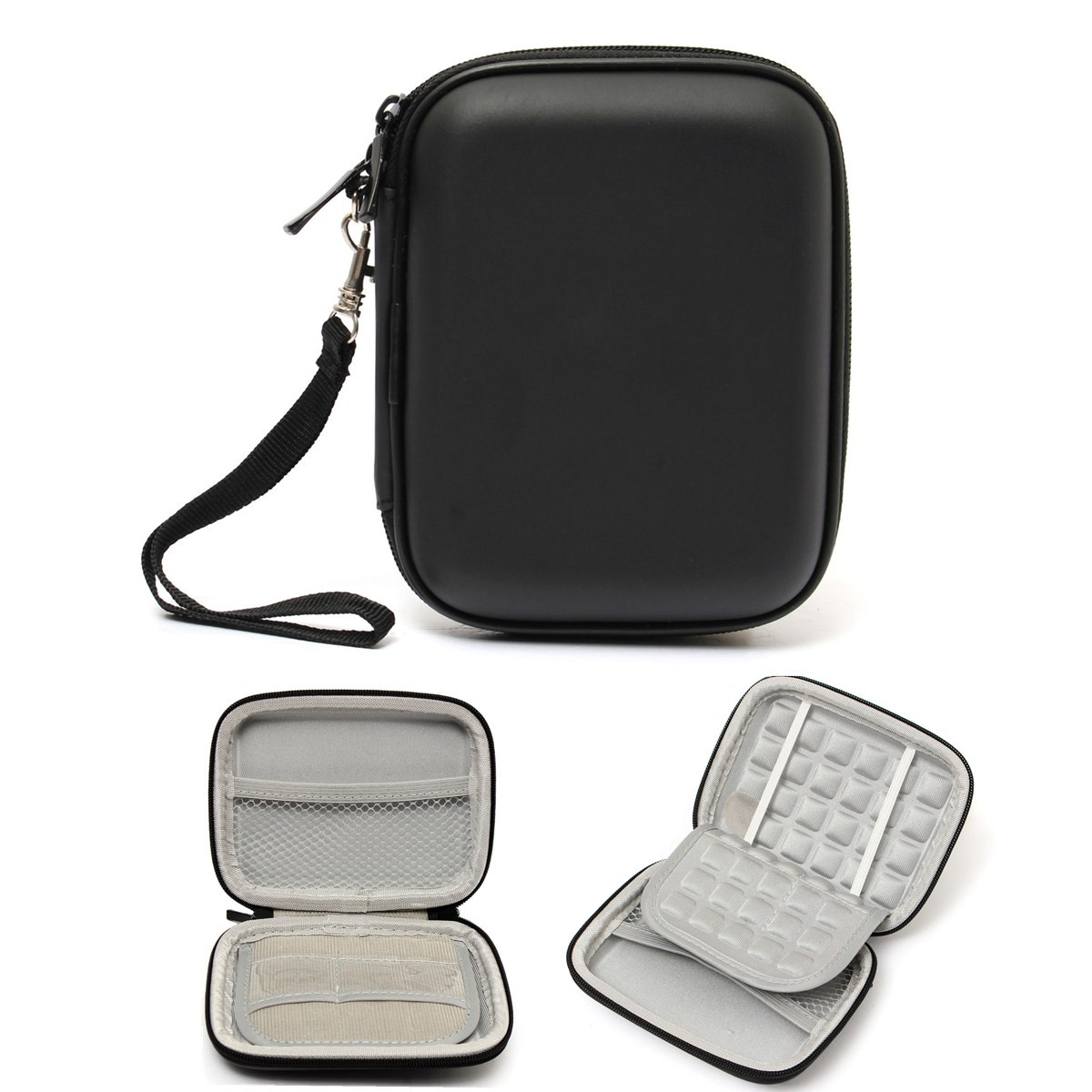 Portable 55 Universal Zipper External Hard Carry Bag Case Pouch Hardisk Eksternal Seagate Expansion 1tb For Protection Disk Drive In Bags Cases