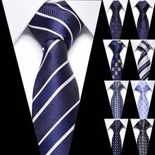 Men Tie 7cm skinny ties Mens New Fashion Dot Neckties Corbatas Gravata Jacquard Slim Business mans Wedding dress neckties