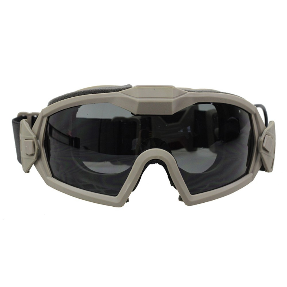 Regulator Updated Version Goggles with Fan Tactical Combat Hunting Shooting Wargame Anti-fog Safety Eyeglasses With 2 Lens