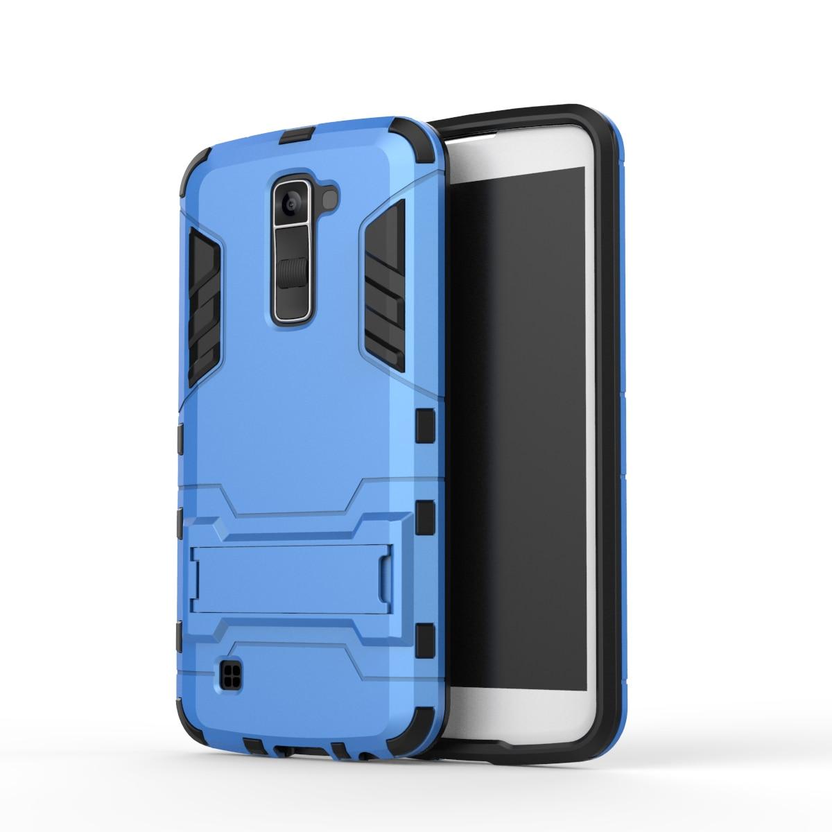 for LG K10 K 10 Lte K430 K 430 430ds ds K430DSY Case Phone 2 in 1 + stent Cover for LGK10 LGK430 K420N K 420 420n n K410 K420NM